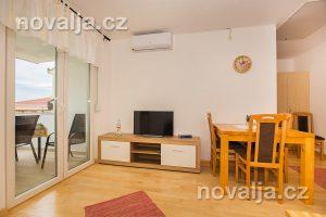 Apartmány Živogošče 11 – obývací priestor